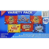 Nabisco Variety Pack Cookies, 40 Count (2.5 Lbs), 40 Ounces
