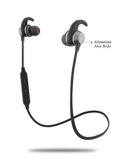 96b8e5a1d26 Boult Grey Space Wireless Bluetooth Earphones: Amazon.in: Electronics