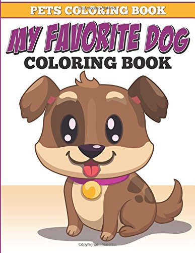 Pets Coloring Book Favorite Dog