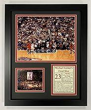 Legends Never Die Michael Jordan Final Shot Framed Photo Collage, 11 x 14-Inch