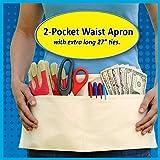 2 Pocket Canvas Waist Apron