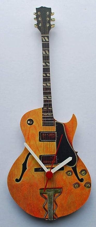 Gibson ES-175 Semi guitarra acústica reloj - G7: Amazon.es: Hogar