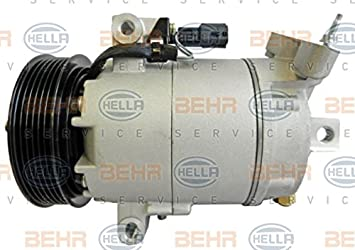 BEHR HELLA SERVICE 8FK 351 340-711 Compresor, aire acondicionado: Amazon.es: Coche y moto