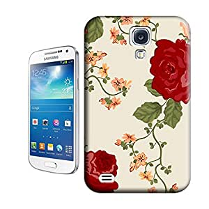Hangbin Red Flower TPU Phone Case for samsung galary s4