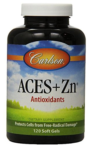 Carlson Aces Zn, 120 Softgels