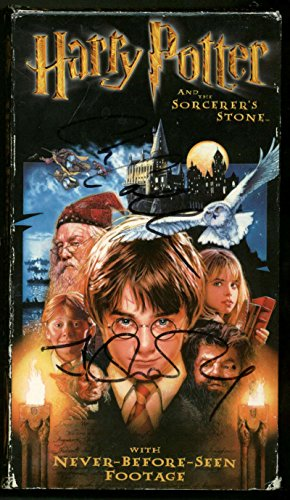 J.K. Rowling John Williams Signed Autographed Harry Potter VHS Beckett BAS