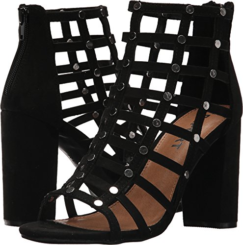 Report Womens Wesley Open Toe Ankle Strap Classic Pumps, Black, Size 9.0 ()