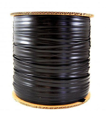 5/8'' 8 Mil Drip Tape -Irrigation-Gardening-12 Inch Dripper Spacing-1,000 Ft Roll-1 Ea by Growers Solution