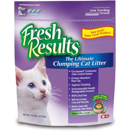 Fresh Results Ultimate Clumping Cat Litter, 20 (Corn Cob Cat Litter)