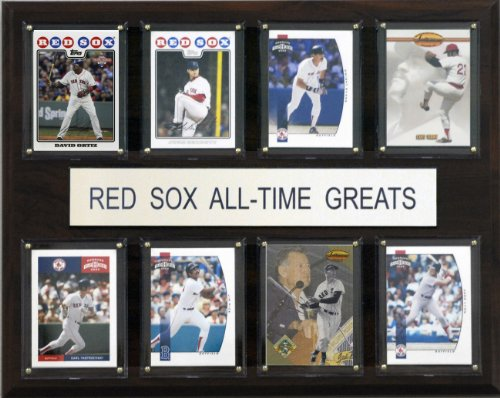 Plaque Boston Sox Red - MLB Boston Red Sox All-Time Greats Plaque