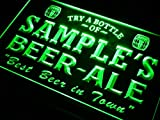 ADVPRO Name Personalized Custom Best Beer Ale Home Bar Pub Neon Sign Green 16'' x 12'' st4s43-pn-tm-g
