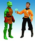 gorn figure - DIAMOND SELECT TOYS Star Trek: The Original Series: Retro Cloth Sulu & Gorn Set