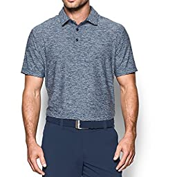 Under Armour Men\'s Playoff Polo, Academy/Academy, Large