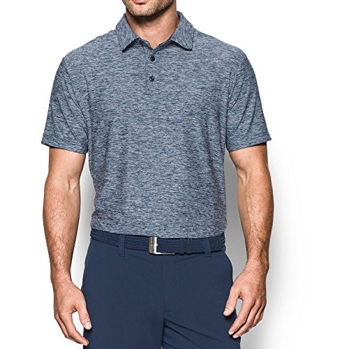 Under Armour Men's Playoff Polo, Academy/Graphite, X-Large (Golf Blue Monster)