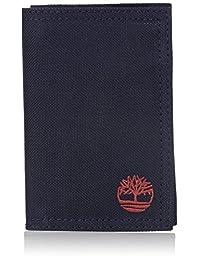 Timberland - portafolios de nailon con velcro para hombre