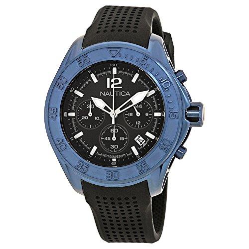 Nautica Reloj Analógico para Hombre de Cuarzo con Correa en Silicona 0656086078947: Amazon.es: Relojes