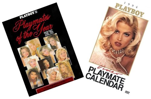 - Playboy's 'Out of Print' 1990's Set (Centerfolds' Golden Decade) ~ Featuring Anna Nicole Smith - / Playmates of the Year The 90's / 1994 Video Playmate Calendar (Dvd)
