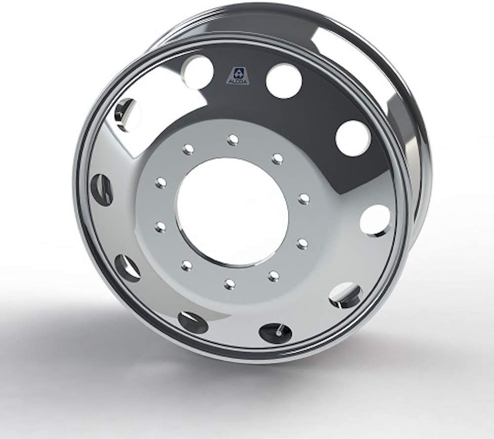 763291 Alcoa 19.5 x 6 Polished Front for Ford F450//F550 /& Dodge 4500//5500