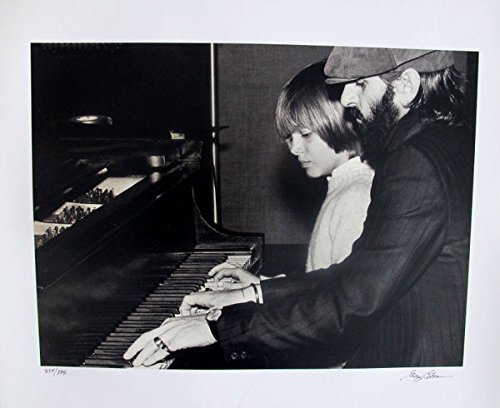 Art by Beatles Ringo Starr Hand Signed Limited Edition Photograph By Gregg Cobarr Measures 16 Inches X 20 Inches by Leos Coffers