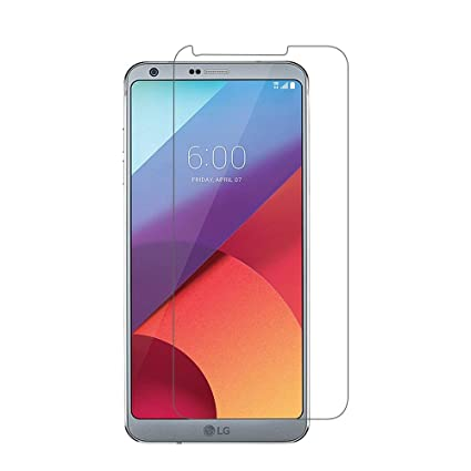 LG G6 Screen Protector, AOKER LG G6 Tempered Glass Screen Protector