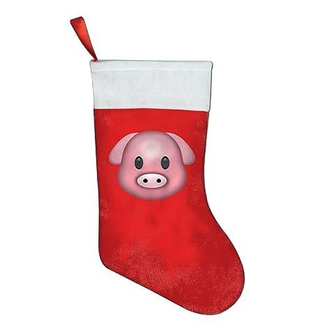 christsock año nuevo cerdo Emoji calcetines de calcetín de Navidad/para decoración