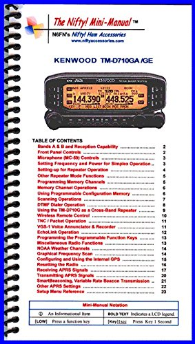 Kenwood Radio Manuals - 8