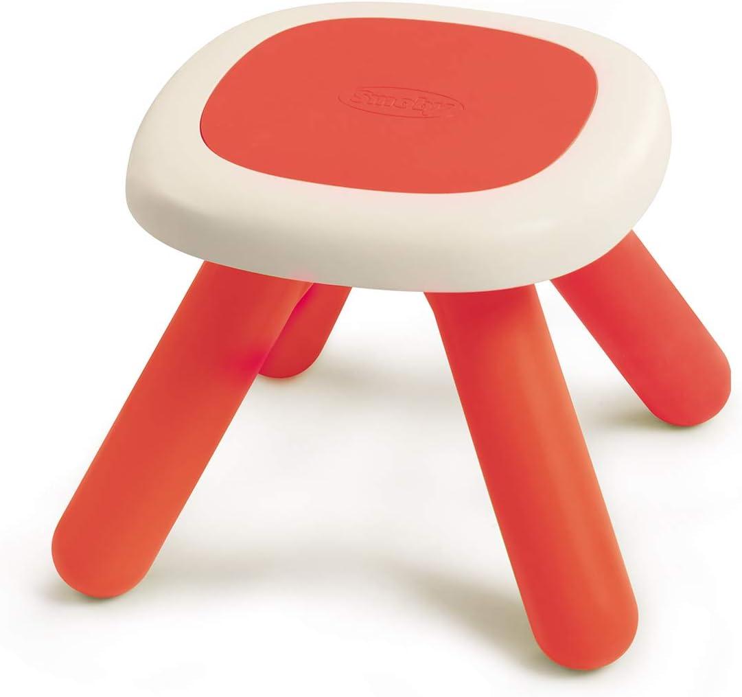 Smoby - Mesa/taburete infantil rojo (880203)