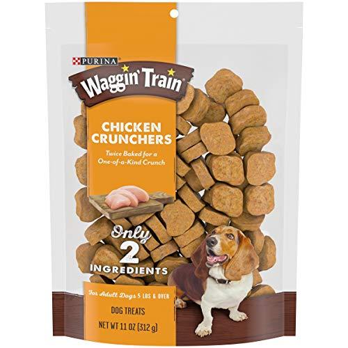 Purina Waggin' Train Chicken Crunchers Dog Treats - 11 oz. Pouch