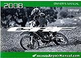 31KSJ640 2008 CRF100F Honda Motorcycle Owners Manual