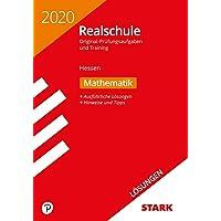 STARK Lösungen zu Original-Prüfungen und Training Realschule 2020 - Mathematik - Hessen