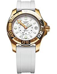 Victorinox 249057 Swiss Army Dive Master 500 White Dial White Rubber Watch