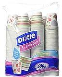 Dixie Bath Cups Coordinating Designs, 3 oz, 600 Count