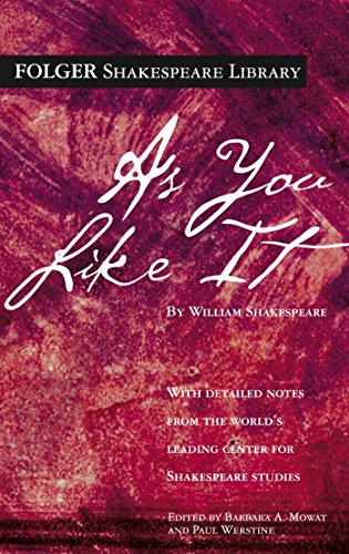 As You Like It (Folger Shakespeare Library) (Measure For Measure As A Problem Play)