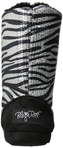 Silver Ladies Zebra Blazin Slipper Sequin Boot Roxx WSwqq7Y51