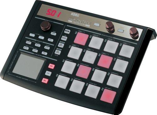 English Touchpad Fixed - Korg padKONTROL MIDI Studio Controller - Black