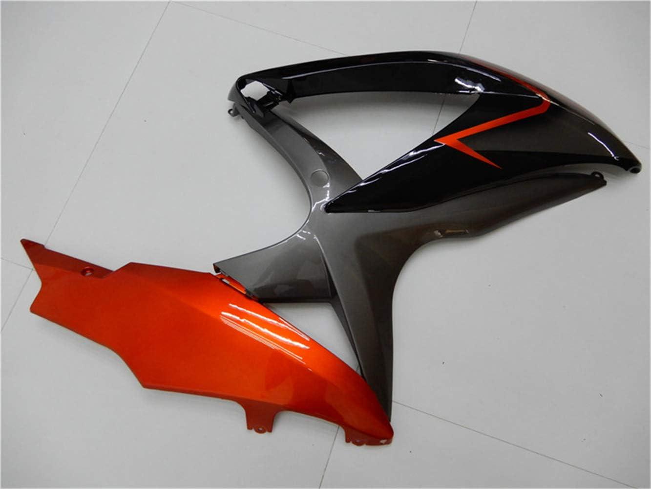 New White Black Fairing Fit for SUZUKI 2008 2009 2010 GSXR 600 750 Injection Mold ABS Plastics Bodywork Bodyframe 08 09 10