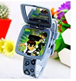 Ben 10 Watch Square mirror flip children kids cartoon Watches WP@MYA163693F