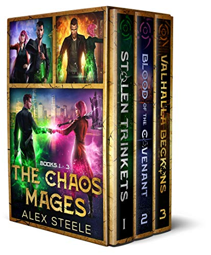Female Chaos - The Chaos Mages Series: Books 1 - 3 (The Chaos Mages Series Boxset)