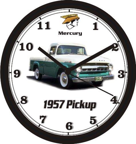 1957 MERCURY PICKUP TRUCK WALL CLOCK-Free USA Ship