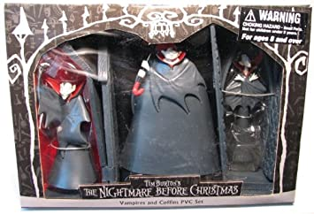 Amazon.com: Nightmare Before Christmas - Vampires and Coffins PVC ...