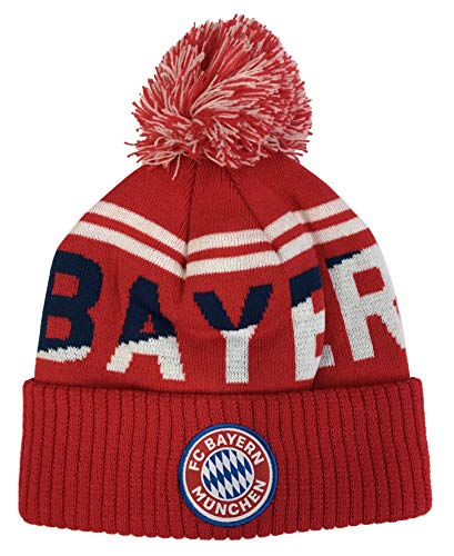 FC Bayern Munich pom Beanie 2018/19 Cap hat Soccer Football Official Merchandise