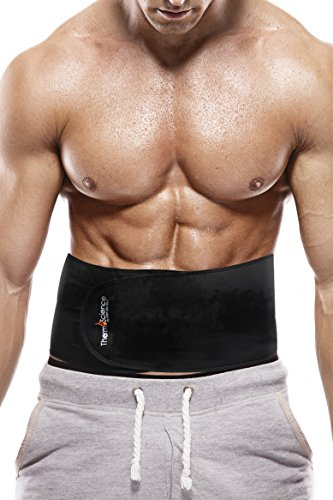 Weight Loss Belt - Waist Trimmer - Belly Fat Burner - For Men And Women - Best Slimming Thermal Belt To Lose Abdominal Belly Fat - It Works Better Than Pills, Shakes, and Diets - No Cream Needed