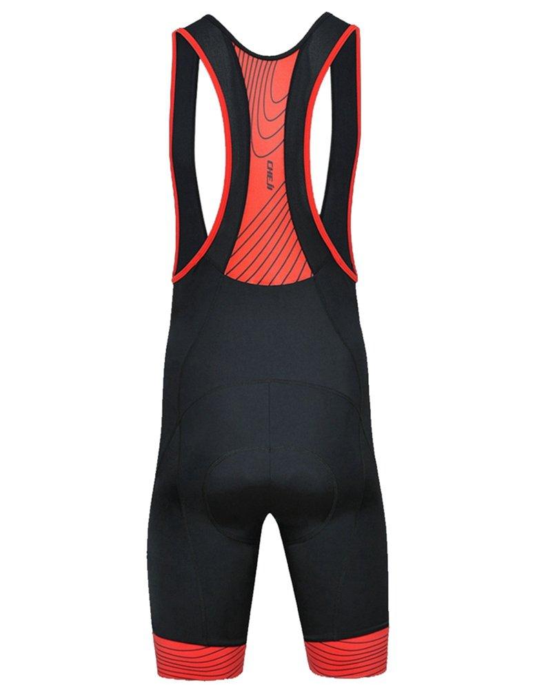 Uriah Mens Cycling Bib Shorts 3D Coolmax Padded Tights