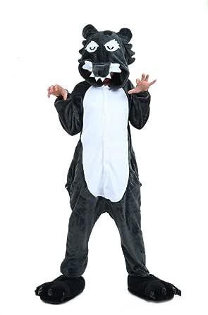 heekpek Pijamas Disfraces de Animales Niños Niñas Unisex
