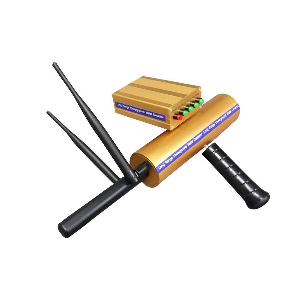 TRULIL Detector de Metal Dorado de Largo Rango de búsqueda 3D Detector Detector de Metal Detector de Alcance de Búsqueda 800M / 2624ft Detector de ...