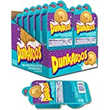 Dunk-A-Roos 12 PACK - Vanilla Cookies and Vanilla Frosting W/ Rainbow Sprinkles Dunkaroos Classic Retro Vintage Snack Pack