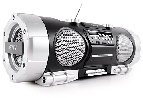 Denver TCS-86 Boombox (FM, AUX-in, CD-Player, Subwoofer)