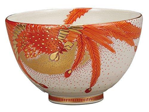 Kutani Yaki Phoenix Porcelain 4.7inch Matcha Bowl by Watou.asia
