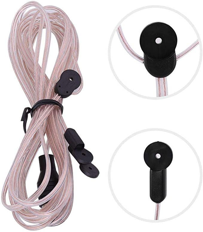 Tangxi FM Dipole Antenna Radio Home Indoor FM Receiver Aerial 85-112 MHZ with TV Female Connector