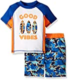 Baby Buns Toddler Boys' Two Piece Good Vibes
